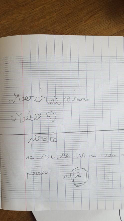 Cahier de mini2, 5 ans et demi